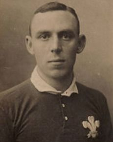Howell Lewis, born in Pontardawe, Glamorgan, was a Welsh International Rugby Union wing who played for Swansea and was capped four times for his country.  During the First World War Lewis was commissioned into the 7th Battalion Royal Welch Fusiliers (TF) and was posted on active service in August 1916. A month later he was wounded whilst with a trench digging party. He returned to his battalion after he recovered and was promoted to Lieutenant in July 1917.