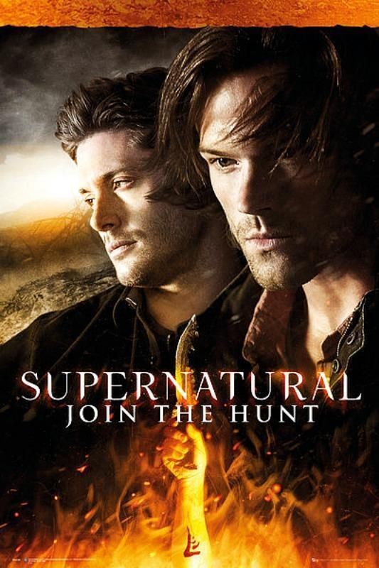 Supernatural : Fire - Maxi Poster 61cm x 91.5cm new and sealed