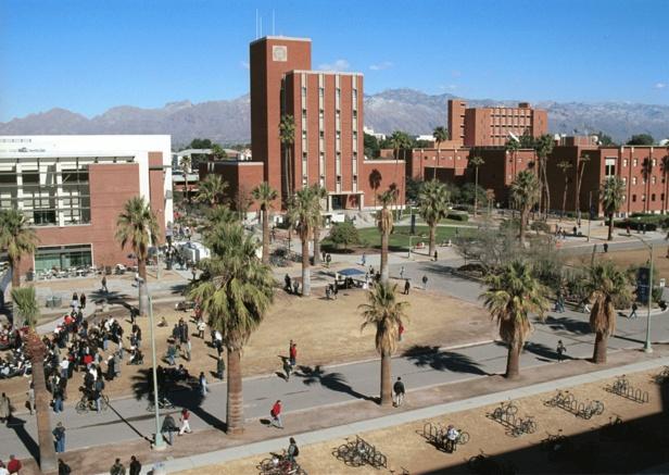 My college.. the University of Arizona.