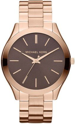 Every Girl Luvs them Some Micheal kors - Michael Kors Watch, Women's Slim Runway Rose Gold Tone Stainless Steel Bracelet  http://demurebyj.com/category/boutique-jewelry/