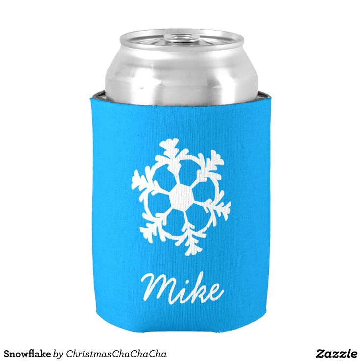 Snowflake Can Cooler