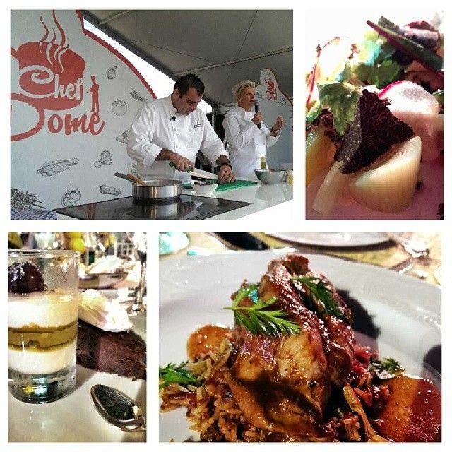 .@lodgaard | Celebrity chef Silvena Rowe invited me for an amazing organic local UAE food at Dubai Food Festival 2014