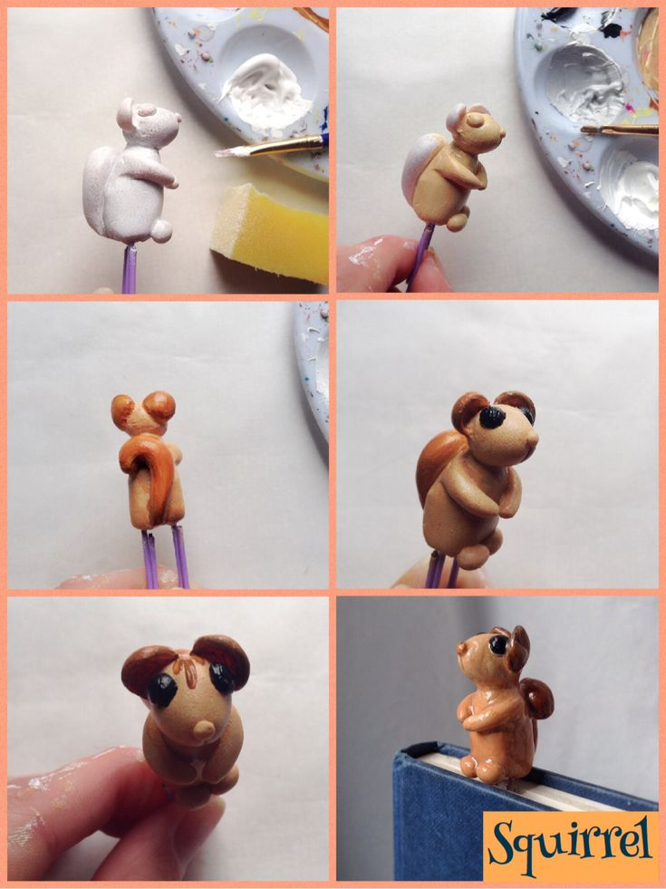 How to paint the Squirrel sculpt.