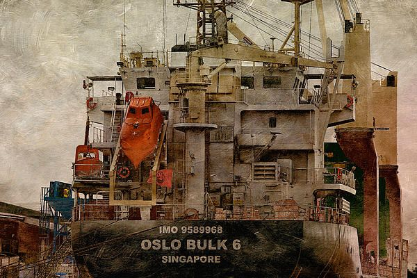 Oslo Bulk. Photo art by WB Johnston, available as prints in a large variety of sizes.