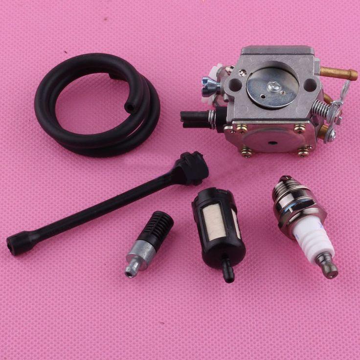 Carburetor Carb Fuel Gas Oil Line Hose Filter For HUSQVARNA 362 365 371 372 XP Lawn mower parts