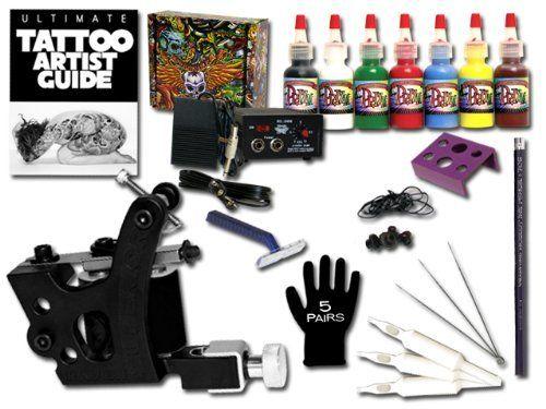 Superior bargain tattoo kit by superior tattoo equipment for Superior tattoo machine