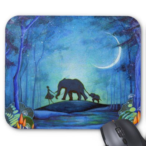 Elephant Walk Mouse Pad - declare it tap to get yours!
