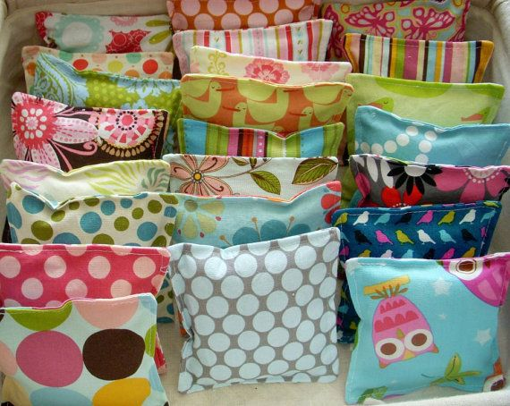 (Jenni) Mini Satchels filled with lavender for under the pillow #Ideas #Inspiration