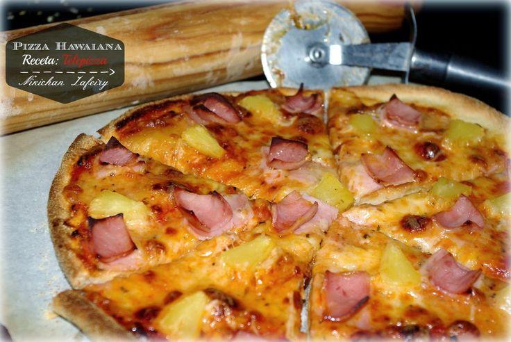 Pizza Hawaiana receta Telepizza