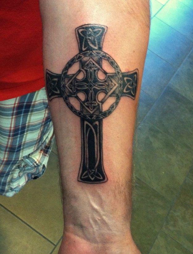 krzyże celtyckie tataże #cross #tattoo #crosstattoo