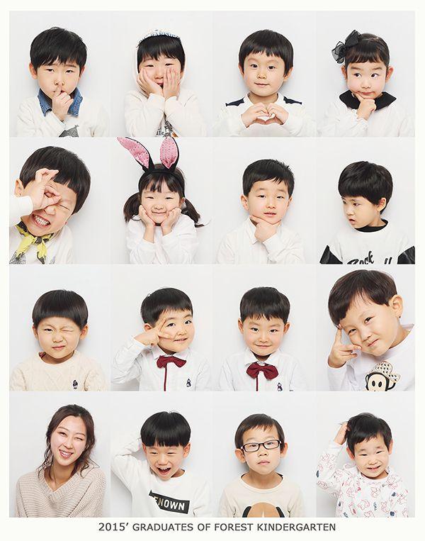 unit friendship sixteen division concept pic. photo by. wooubistudio  유닛 우정 16분할 컨셉 사진 우유비스튜디오 어린이집 졸업사진 / 감성 사진