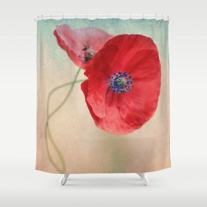 Buy Poppies vintage(5) Shower Curtain by maryberg. Worldwide shipping available at Society6.com. Just one of millions of high quality products available.