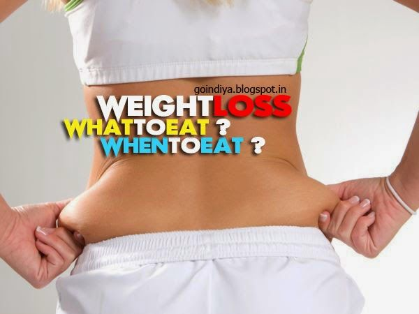 What to eat & not to eat - Best food for healthy weight loss.