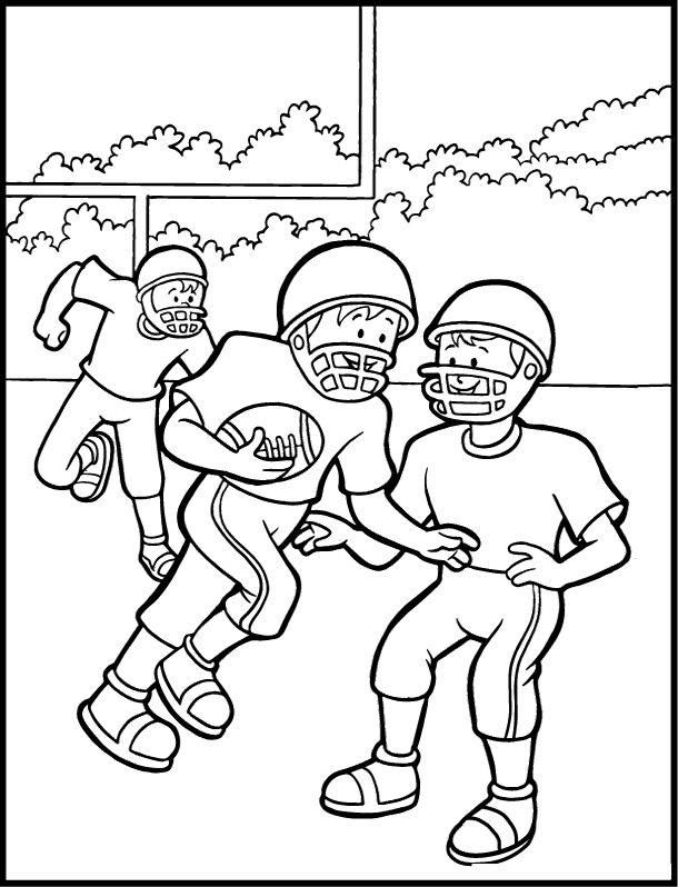 Read Morekids Playing Football Coloring Pages Football Coloring
