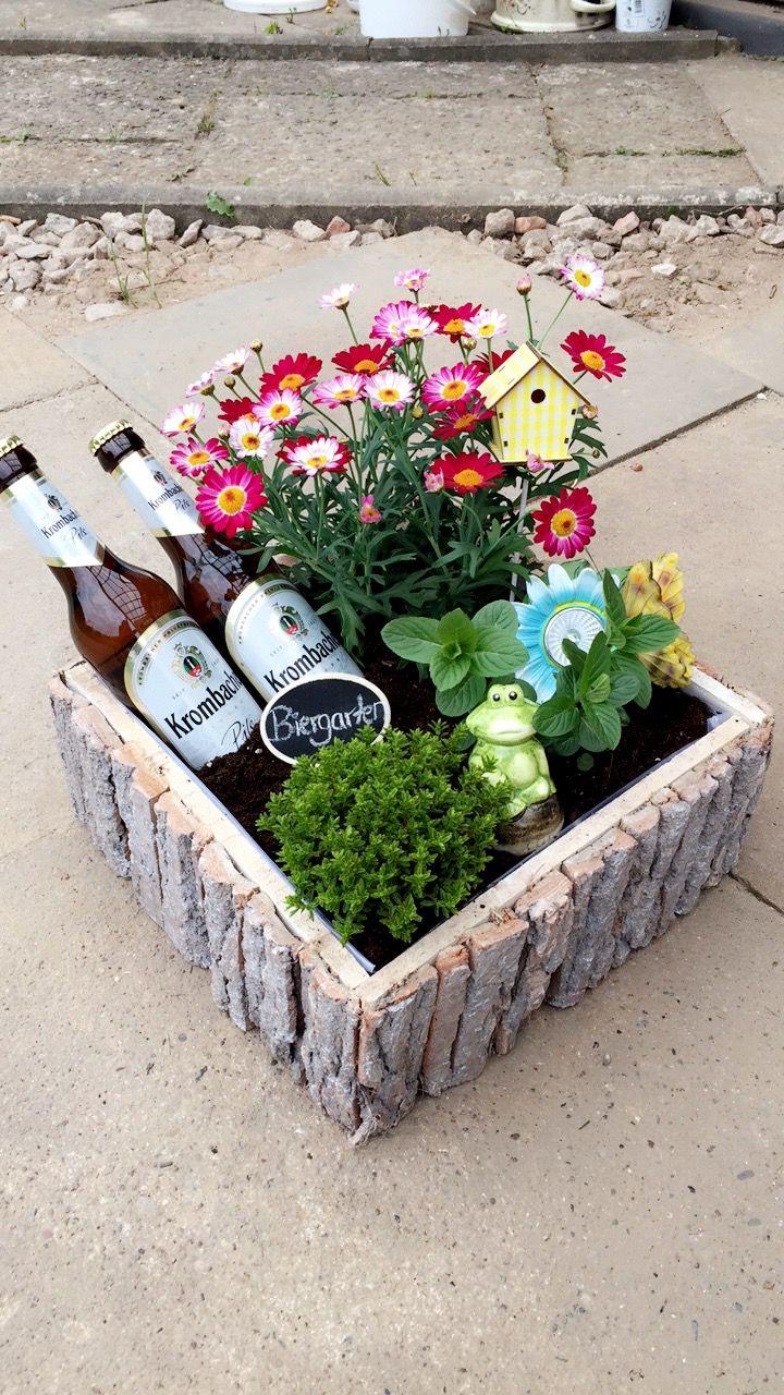 #Biergarten#Männergeschenke#Bier#blumen#Geschenkideen#