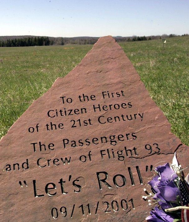 Memorial for Flight 93.