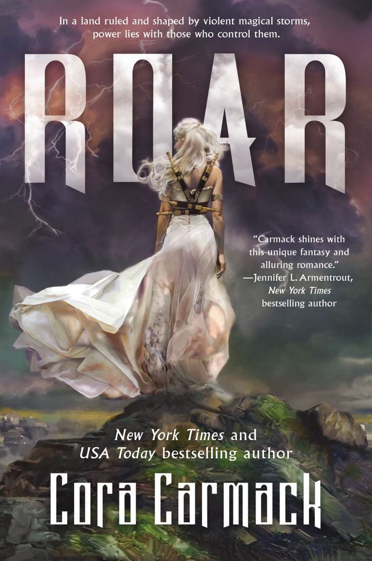 Cover Reveal: Roar by Cora Carmack - On sale June 13, 2017! #CoverReveal
