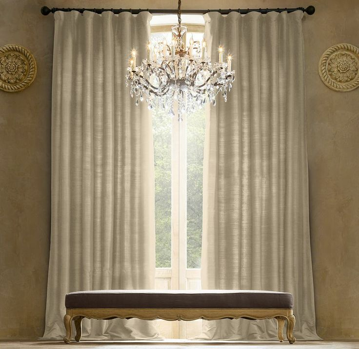 83 best images about restoration hardware livingroom on for Restoration hardware window shades