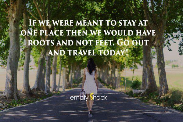 EmptyShack travel inspiration!