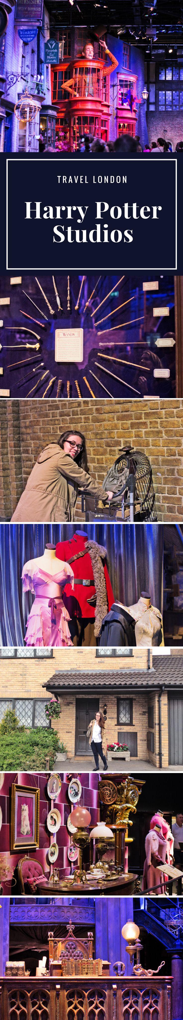 Kommt mit in die Harry Potter Studios!