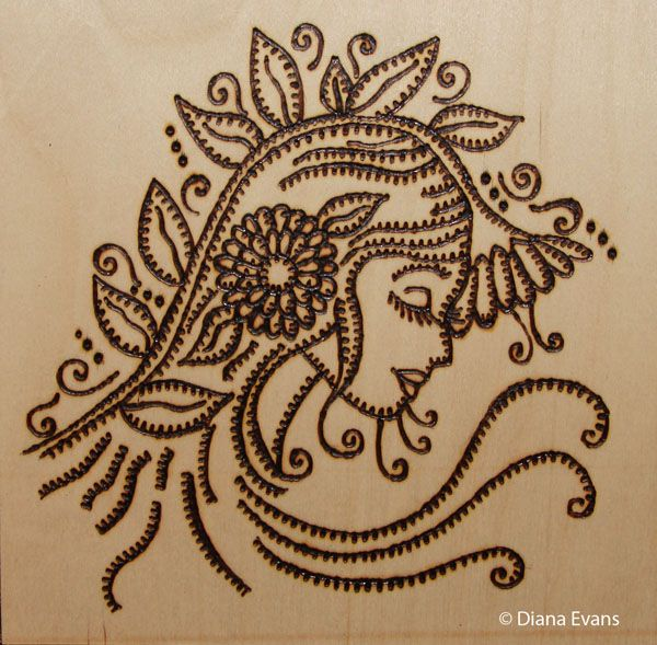 Free Wood Burning Pyrography Patterns - WoodWorking Projects & Plans