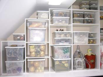 Turn attic into valuable storage room. #truorder