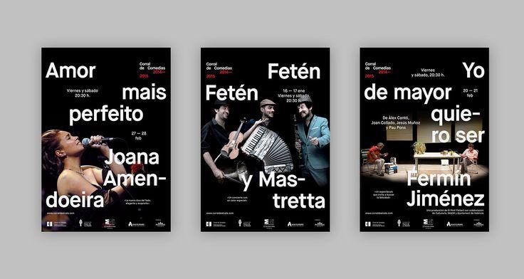 Teatro de La Abadía –Posters 2014-2015 on Behance
