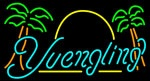 Yuengling Sun Palm Trees Neon Beer Sign
