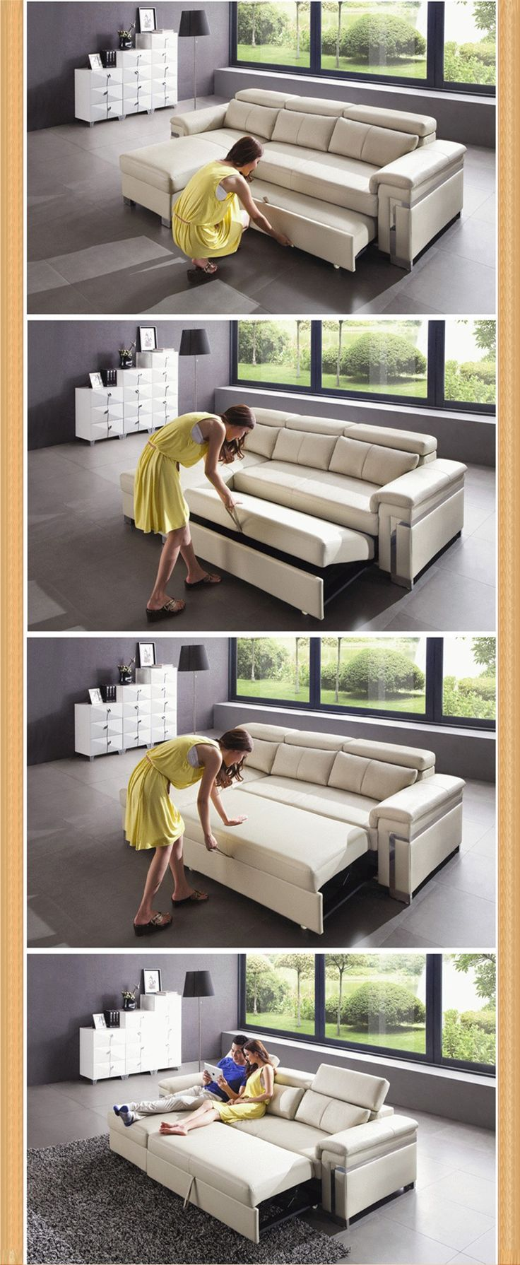 sleeper couch mechanism