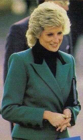 February 10 1988: Princess Diana visits Dr Barnardo's West Beckton Children's Community Centre in London