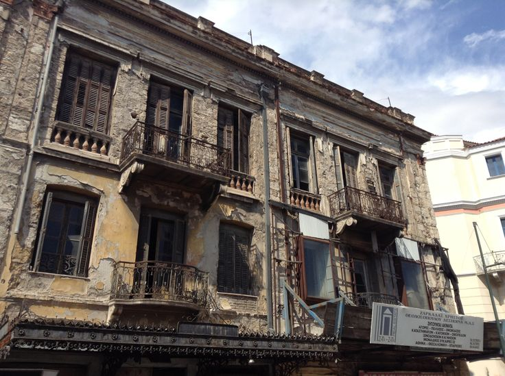 An old building in Greece