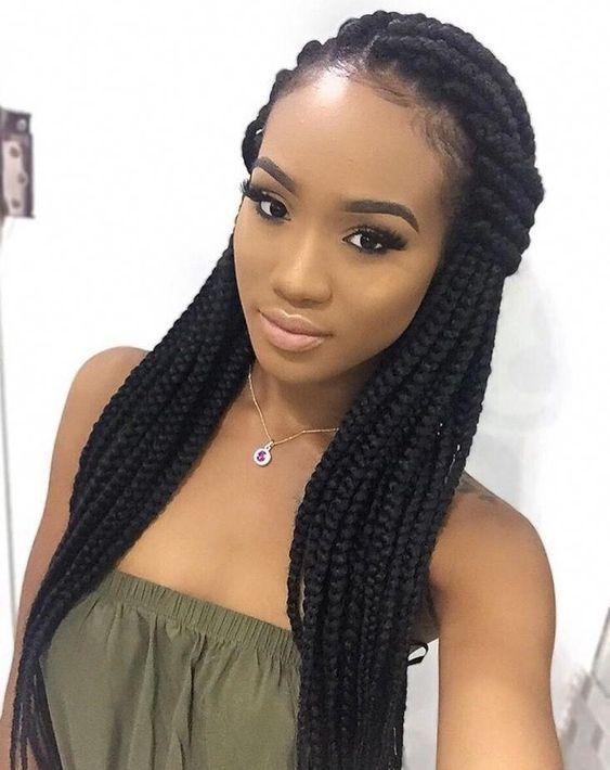 22 Superbes Tresses Africaines 192 Adopter Tendance 2019 En