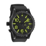 NIXON THE 51-30 PU MENS WATCH - With superior functionality - like a custom 3 hand Swizz quartz movement and tide subdial - its wearer is never without the necessary earthly information. But with custom stainless and silicone - clad durability and unrivaled handsome details, it's a timepiece that's rife with worldly good looks.  Buy Now http://www.watchrepublic.co.za/brand/nixon/men/nixon-51-30-pu-mens-watch