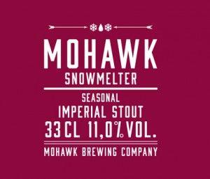Mohawk Snowmelter / Den heter Snowmelter. Men skulle lika gärna kunna heta Imperial Milk Chocolate Oatmeal Coffee Stout. En fyllig, kraftig öl som gör sig bäst i lugn och ro kanske med lite mörk choklad vid sidan. Servera källarsval i ett vinglas eller en konjakskupa. En öl för vintermörker.