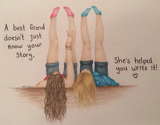 1000+ ideas about Best Friend Drawings on Pinterest | Easy to draw ... Pinterest:Arzushka22