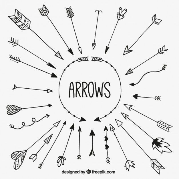 Bullet Journal Inspiration as arrows are drawn. It's the little de … – DIY tattoo – #bullet #the #diy #drawn # inspiration