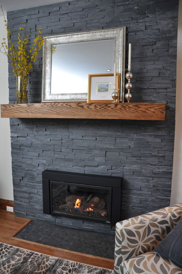 Best 25 Slate Fireplace Ideas On Pinterest Slate Fireplace Surround Wood Mantle Fireplace