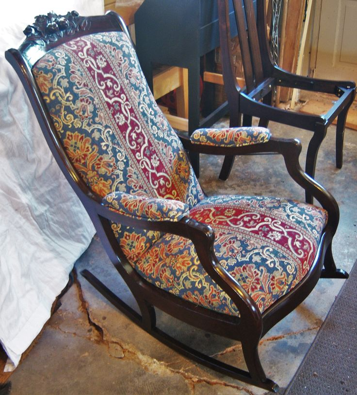 ... cher  Pinterest  Victorian rocking chairs, Rocking chairs and Chairs