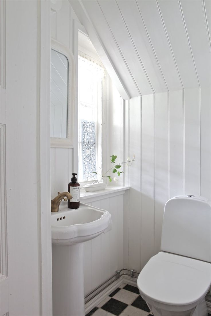 1000 images about small loo on pinterest small white for Small loo ideas