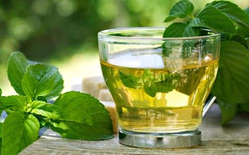Home Remedies For Polycystic Ovary - Spearmint Tea