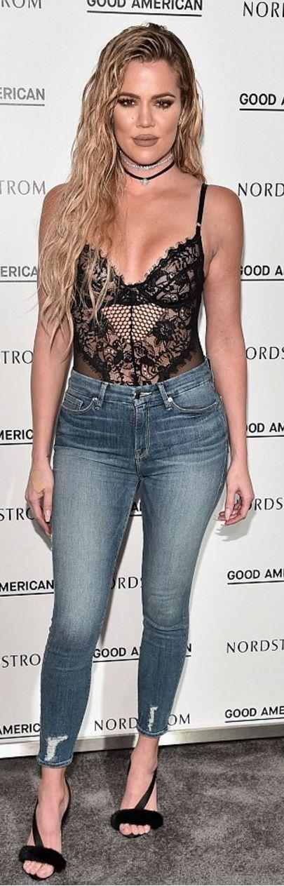 Khloe Kardashian wearing 18th Amendment, Monarch, Gooseberry Intimates and Olgana Paris