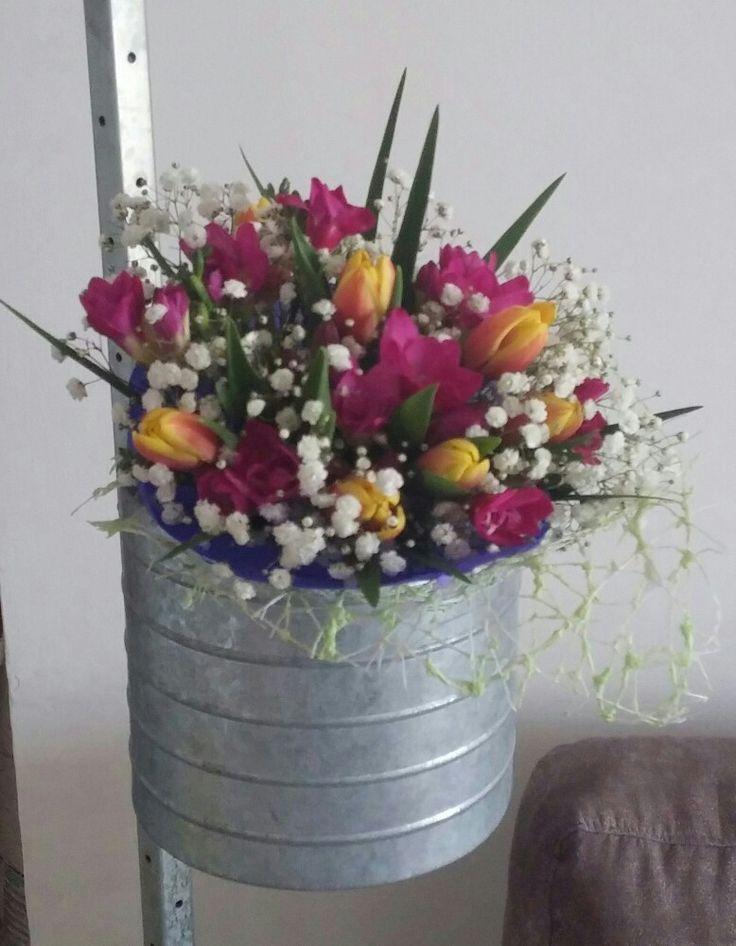 Tulipani e fresia