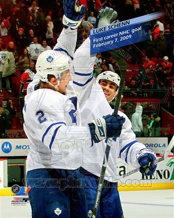 Toronto Maple leafs - Luke Schenn Photo