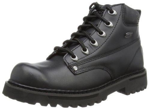 Oferta: 84.95€ Dto: -38%. Comprar Ofertas de Skechers Cool Cat Bully II - Botas para hombre, color negro (nero (schwarz/bol)), talla 42 barato. ¡Mira las ofertas!