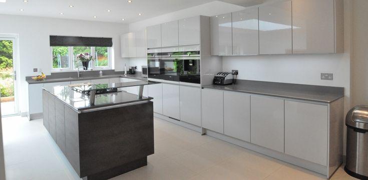 13 best line n handleless nobilia kitchens images on pinterest