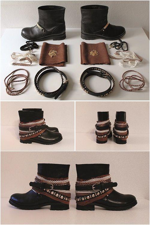 Boho Boots Anleitung