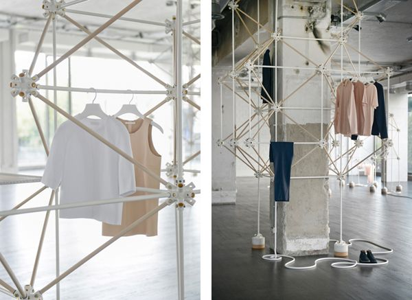 COS X SALONE DEL MOBILE X BONSOIR PARIS    For the second year, COS is celebrating Salone del Mobile, Europe's largest furniture design fair  with a pop-up concept store created by French design duo Bonsoir Paris.