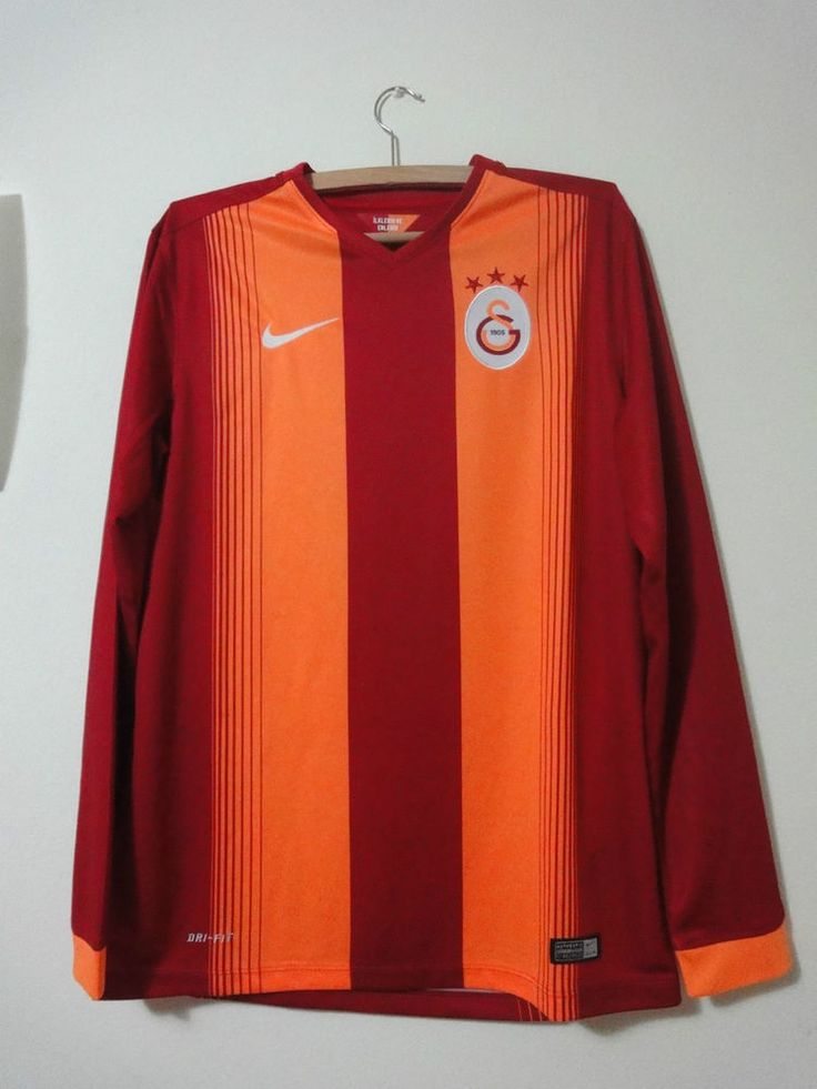 NEW Galatasaray tişört Turkey long sleeves shirt nike home 2014 - 2015