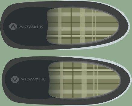 Airwalk slope shoes #vector #design #flat #art #airwalk #image #flatcolor Follow @tbafaisa