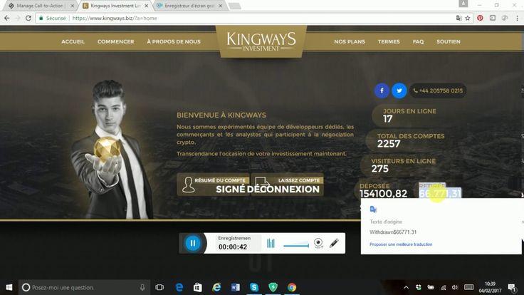 Comment gagner de l'argent sur internet chaque jour - KINGWAYS